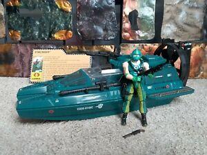 GIJOE 25th Anniversary Cobra STING RAIDER (WATER MOCCASIN) w/ COPPERHEAD, Mint!