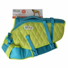 LM Outward Hound Standley Sport Life Jacket for Dogs - Green/Blue X-Large - 85-1