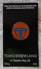 Disney Pin Walt Disney Regal Theaters Promo 2015 Tomorrowland Movie Themed Pin