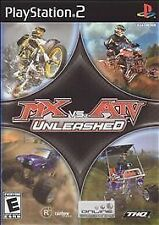 PS2 MX vs. ATV Unleashed w/Manual & Case