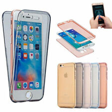 iPhone Xs Max XR 8 7 6 6s + 5s 360° Shockproof Protective Full Clear Case Cover