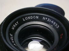 "Wray 30.2552 Vintage Wide Angle Lens f6.3 / 7""  NOS"