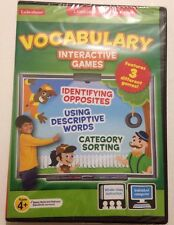 Lakeshore VOCABULARY INTERACTIVE Features 3 Different GAMES 4+ Individual/class