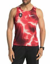 Nike Men's Bowerman Track Club Elite Rare Red Aeroswift Singlet Slim Size Small