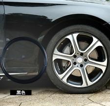 Car Wheel Centre Hub Decorative Trim Circle Protective Ring black