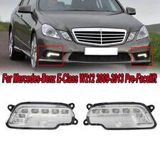 2x LED Daytime Running Lights Fog Lamps For Mercedes W212 E300/350/500/550 09-13
