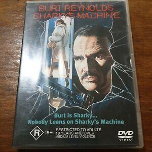 Sharky's Machine DVD R4 Like New! FREE POST