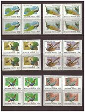 Hungary 1977 Peacocks / birds in block of 4 MNH**