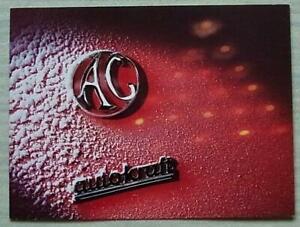 AC & AUTOKRAFT CHRISTMAS & NEW YEAR Car Badges Greetings Card