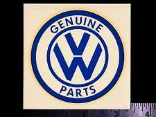 Vw Genuine Parts - Original Vintage 1960's Racing Water Slide Decal Volkswagen