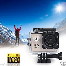 Waterproof Sports Recorder Car DV Action Camera Camcorder 1080P Ultra-HD