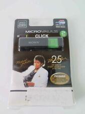 "MICHAEL JACKSON "" Thriller "" 25 - MP3 2GB Sony USB Drive Rare   by SONY  SEALED"