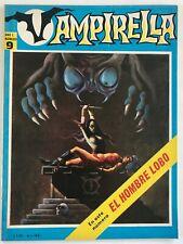 VAMPIRELLA N° 9 TEXEIRA HORROR ARGENTINA MINT EDITORIAL MAZZONE 1970