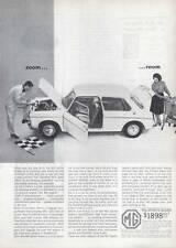 1963 MGB British Motor Corporation MG Sports Sedan PRINT AD