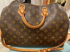 Louis Vuitton Speedy Bandouliere 35. Preloved