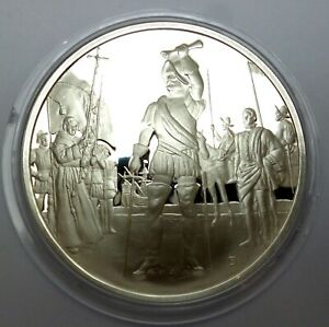 Argentina 1980 Commemorative Silver Proof Medal - Honoring Buenos Aires (T62)