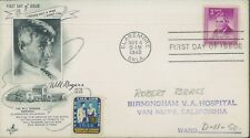 1948 Claremore Oklahoma Will Rogers Memorial ArtCraft First Day Cover