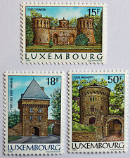 Timbres / Stamp LUXEMBOURG Yvert et Tellier n°1103 et 1105 NSG (mate) (cyn11)