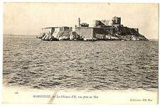 CPA 13 Bouche-du-Rhône Marseille Le château d'If Vue prise en mer