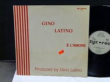 """MAXI 12"""" GINO LATINO E l 'amore ZYX RECORDS 5942"""