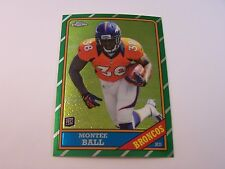Montee Ball ROOKIE CARD #20 (1986 STYLE) INSERT 2013 Topps CHROME Football