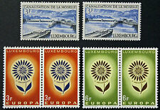 LUXEMBOURG timbres/Stamps Yvert et Tellier n°647 à 649 (x2) n** (cyn10)