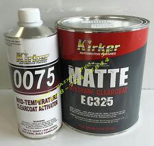 Kirker Urethane matte finish clear coat EC 325 auto body shop restoration paint