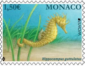 Monaco 2021 Individual Stamp EUROPA 2021 - ENDANGERED NATIONAL WILDLIFE
