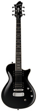 Hagstrom Ultra Swede Electric Guitar - Black Gloss