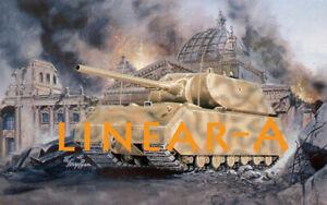 1:72 PANZER PH7501 WWII Maus Super Heavy German Tank - PEGASUS