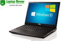 Dell Laptop Duo Windows 10 Pro Intel 2.0, 160GB, 3GB, Warranty
