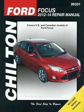 Ford Focus Repair Manual (Chilton): 2012-2014 #26331