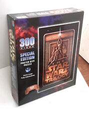 Star Wars Trilogy Movie Poster 300 Piece Puzzle- Milton Bradley-SEALED (M-5876)