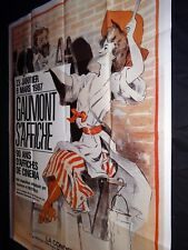 GAUMONT S' AFFICHE  affiche cinema