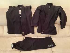 Taekwondo Demo team uniform, Century XMA, 3 pieces, Kids unisex, Size 2