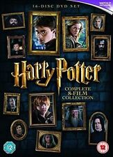 Harry Potter Complete 8 Film Collection 2016 Edition DVD and UV Copy