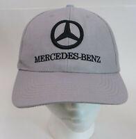 Mercedes Benz Hat Cap Grey Strapback One Size 100% Cotton