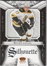 MILAN LUCIC NO:20 GAME-JERSEY SILHOUETTE  in PANINI CROWN ROYALE 2012-13