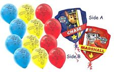 Paw Patrol Theme Balloon Set (13 pieces) Marshall Chase Party Decoration