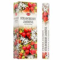 Hem Incense Sticks Strawberry Jasmine Bulk 120 Stick for Cleansing Spiritual