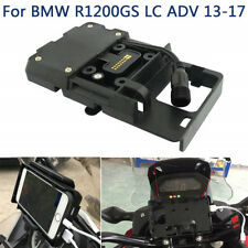 GPS Navigation Phone Charger Mount Stand Bracket for BMW R1200GS LC ADV 13-17
