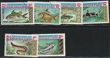 Cambodia SC447-453 Beautiful Fish MNH 1983 (cancelled)