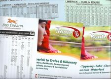 Bus Eireann Ireland Irish bus timetables x5 Limerick Cahir Rosslare Harbour 2008