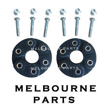 2 Front & Rear Rubber Driveshaft TailShaft Couplings Commodore VX VY VZ VE V8