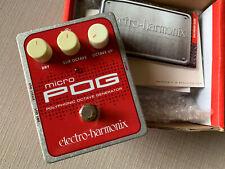 Electro-Harmonix POG Polyphonic Octave Generator Guitar Effects Pedal