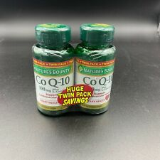 Natures Bounty CoQ-10 Twin Pack 100MG + L-Canitine 60 Softgels x2 Exp. 2021+