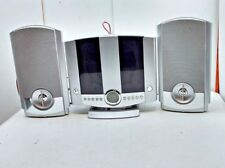 GPX CD Home Music System, FM/AM Wall Mountable, Shelf Speakers