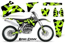 YAMAHA YZ250F YZ450F 06-09 GRAPHICS KIT CREATORX DECALS RAD COW GL