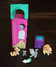 LPS Littlest Pet Shop Purry Kittens with Kitty Playtime Condo Set Complete Vtg