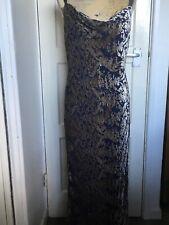 Monsoon  Silk Blend Maxi Dress Size 12
